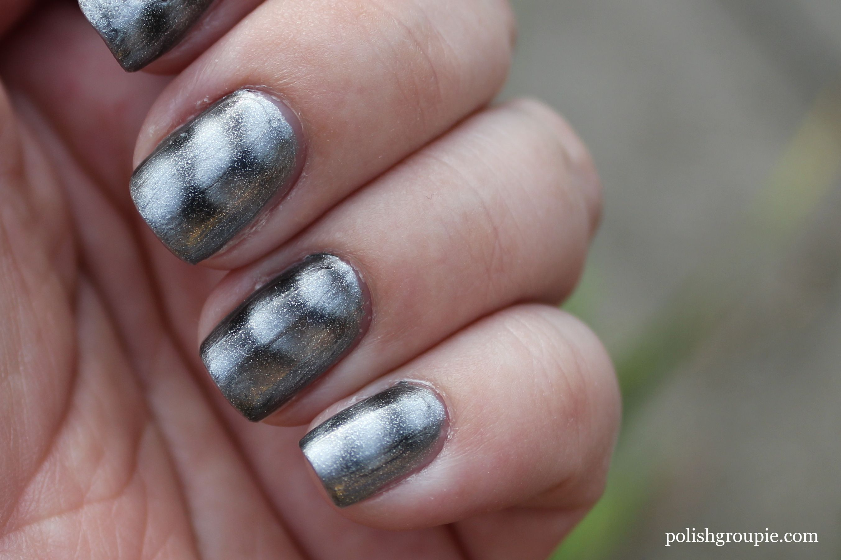 Sally Hansen Magnetic Nail Color Silver Elements | Polish Groupie ...