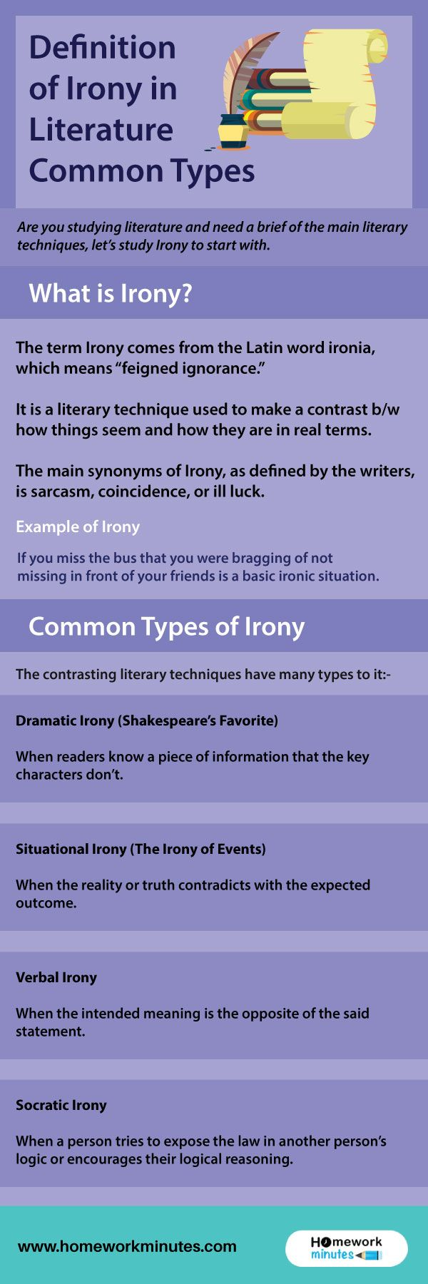 Definition of Irony in Literature Common Types howdo