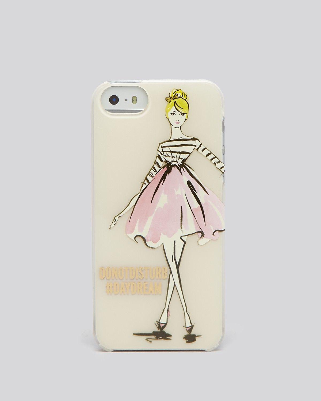 kate spade new york iPhone 5/5s Case - Resin Nice Girl | Bloomingdale's