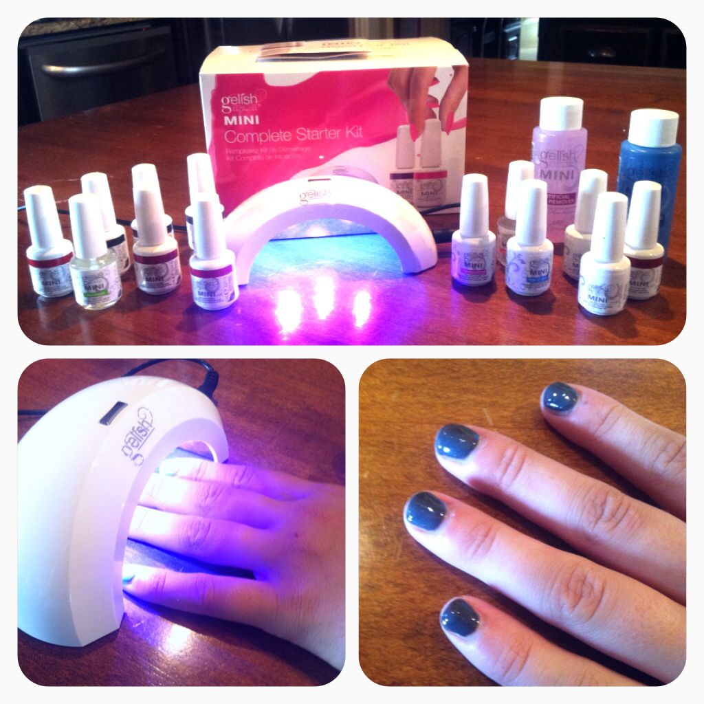 New do it yourself home kit shallac nails!💅 I will save