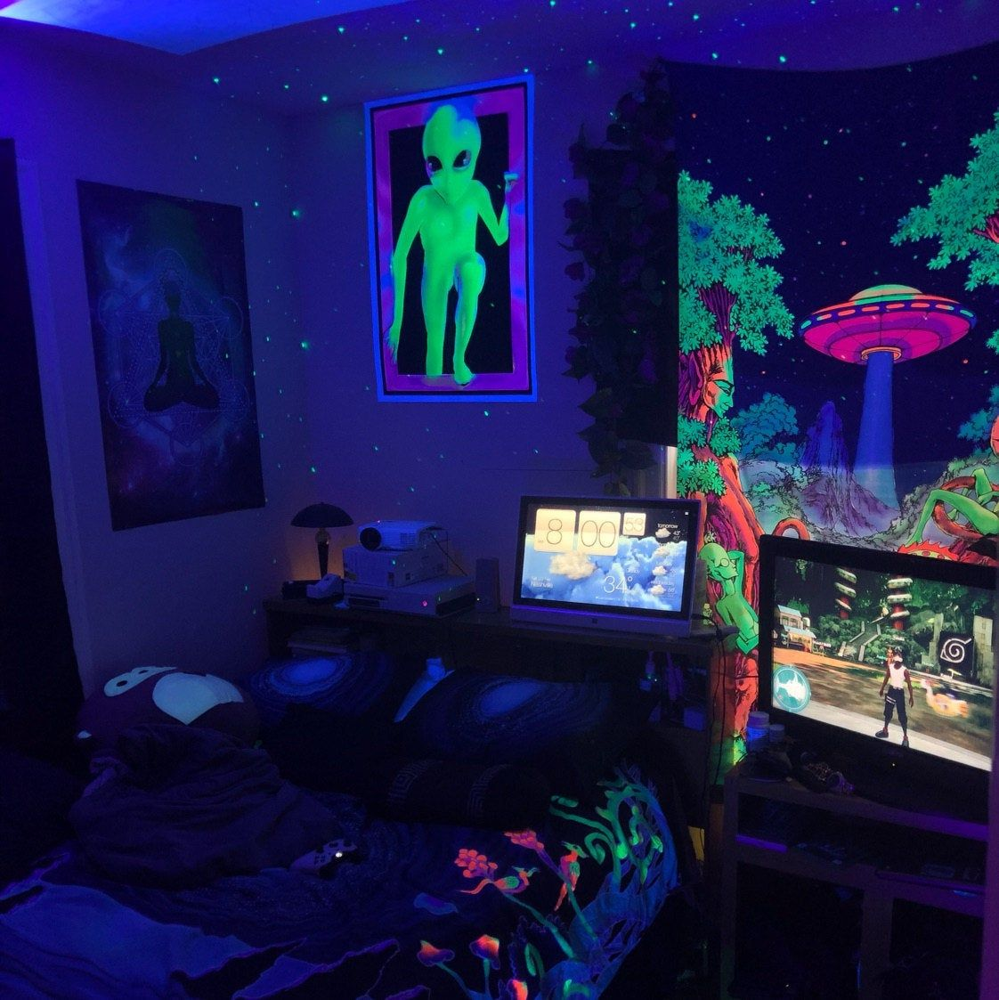 Pin On Hippie Bedroom Decor