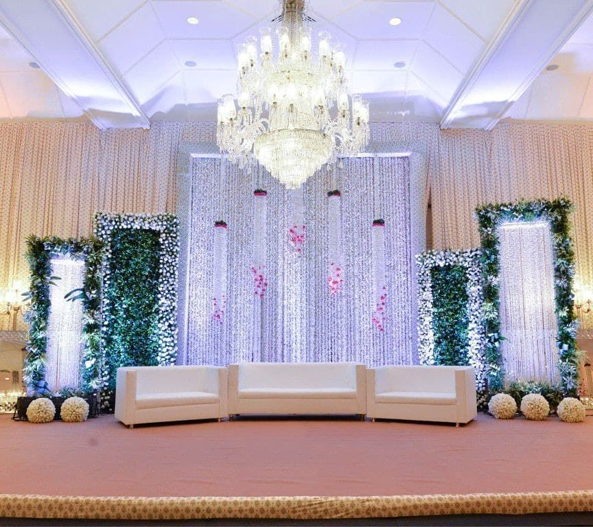 "Simple Wedding Stage Decoration Ideas: Amaraay : The Event Diaries ""Simple Yet Classy """