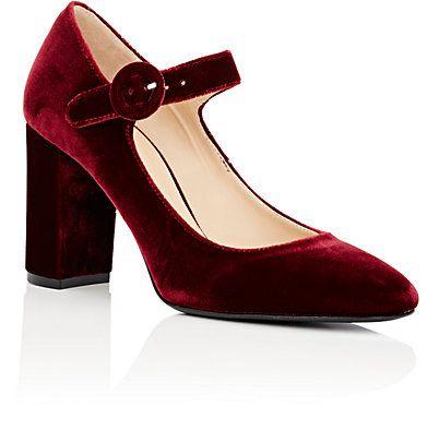 2c55a780c Barneys New York Velvet Mary Jane Pumps - Heels - 505011291   Fall ...