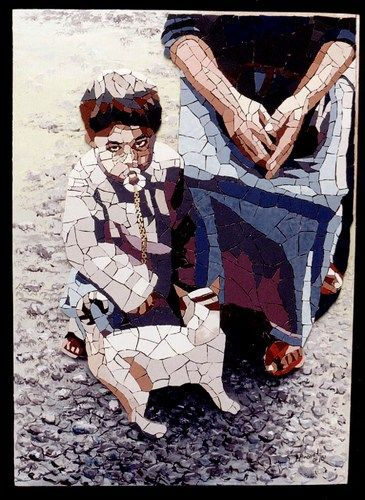 Mosaic Portraits – Ceramic Tile Meets Acrylic – Mosaic Artist – Sérgio Honorato – Campos Dos Goytacazes – Rio de Janeiro, Brazil | Mosaic Art Source