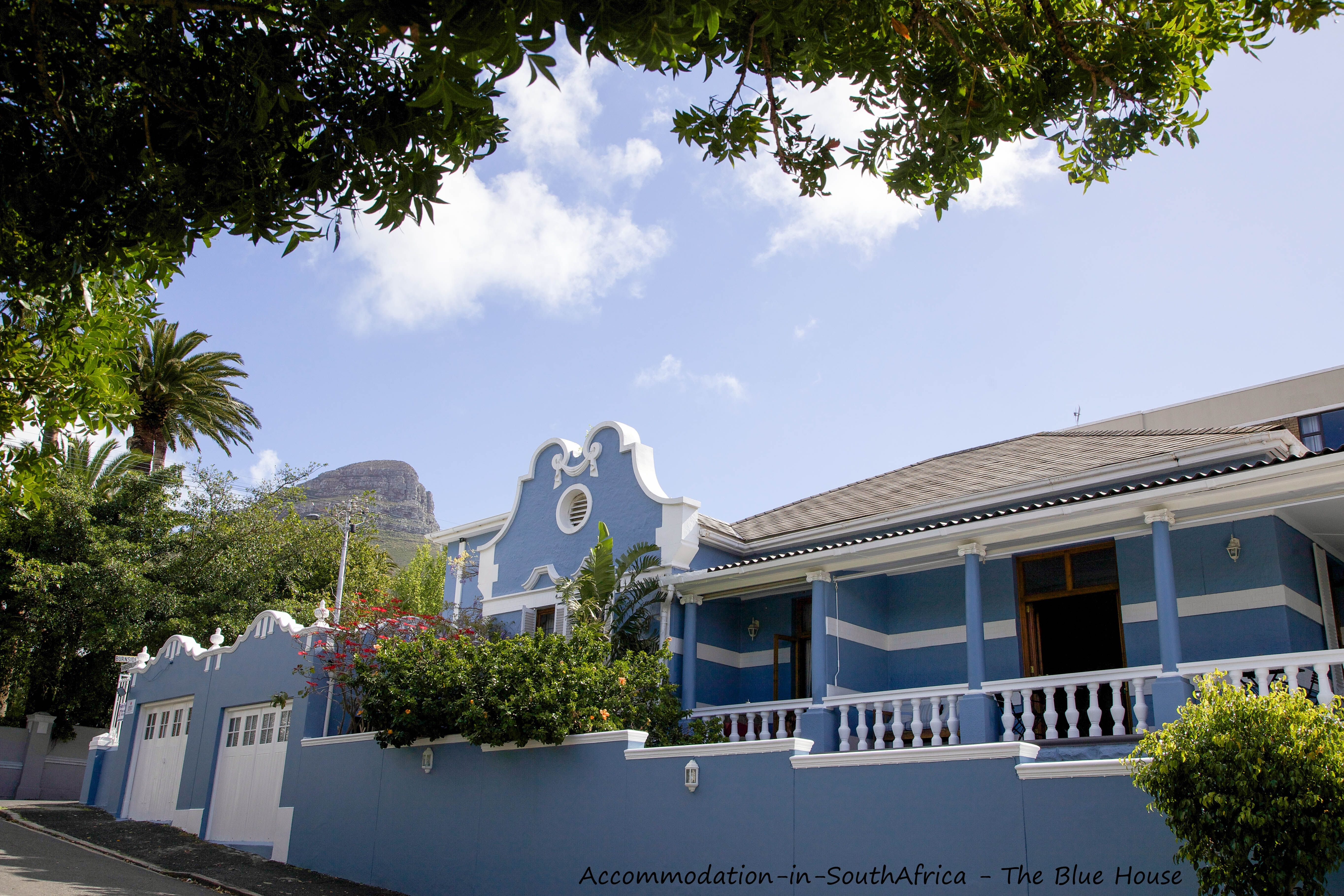 Cape Town Accommodation. Accommodation in Cape Town. The Blue House Guest House. Guest House accommodation. Cape Town Guest House. The Blue House.