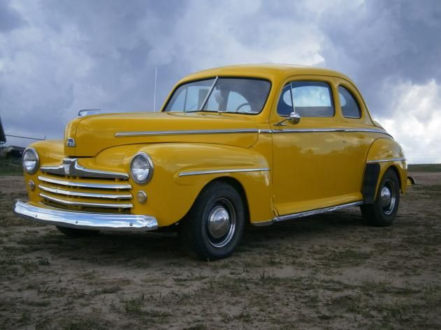 Autotrader Classics 1948 Ford Super Deluxe Coupe Yellow 8 Cylinder Manual 2 Wheel Drive American Classics Colorado Sp Classic Cars Cars Trucks Autotrader