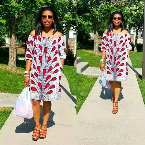Ankara Short Gown 2018 Carrefour En 2018 Pinterest Ankara