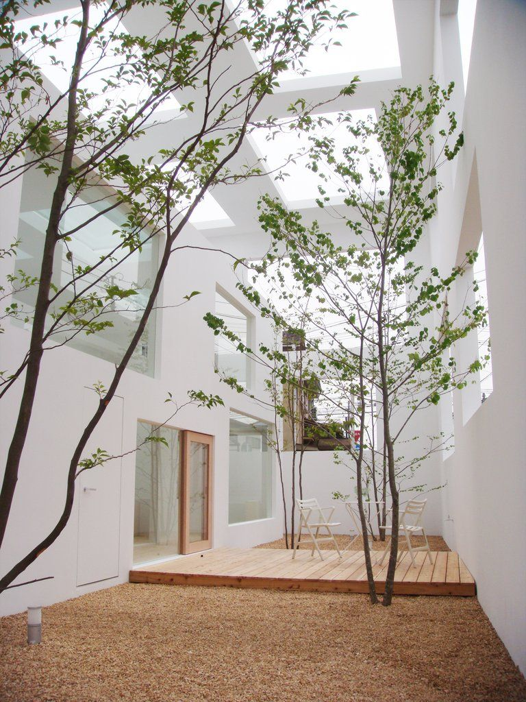 Sou Fujimoto House N  This Would Be Such A Beautiful Place To Sit On Winter  Days. Trees, Light, And Protection From The Elements.