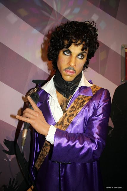 The singer Prince in the Wax Museum Amsterdam | Wax Museum ...