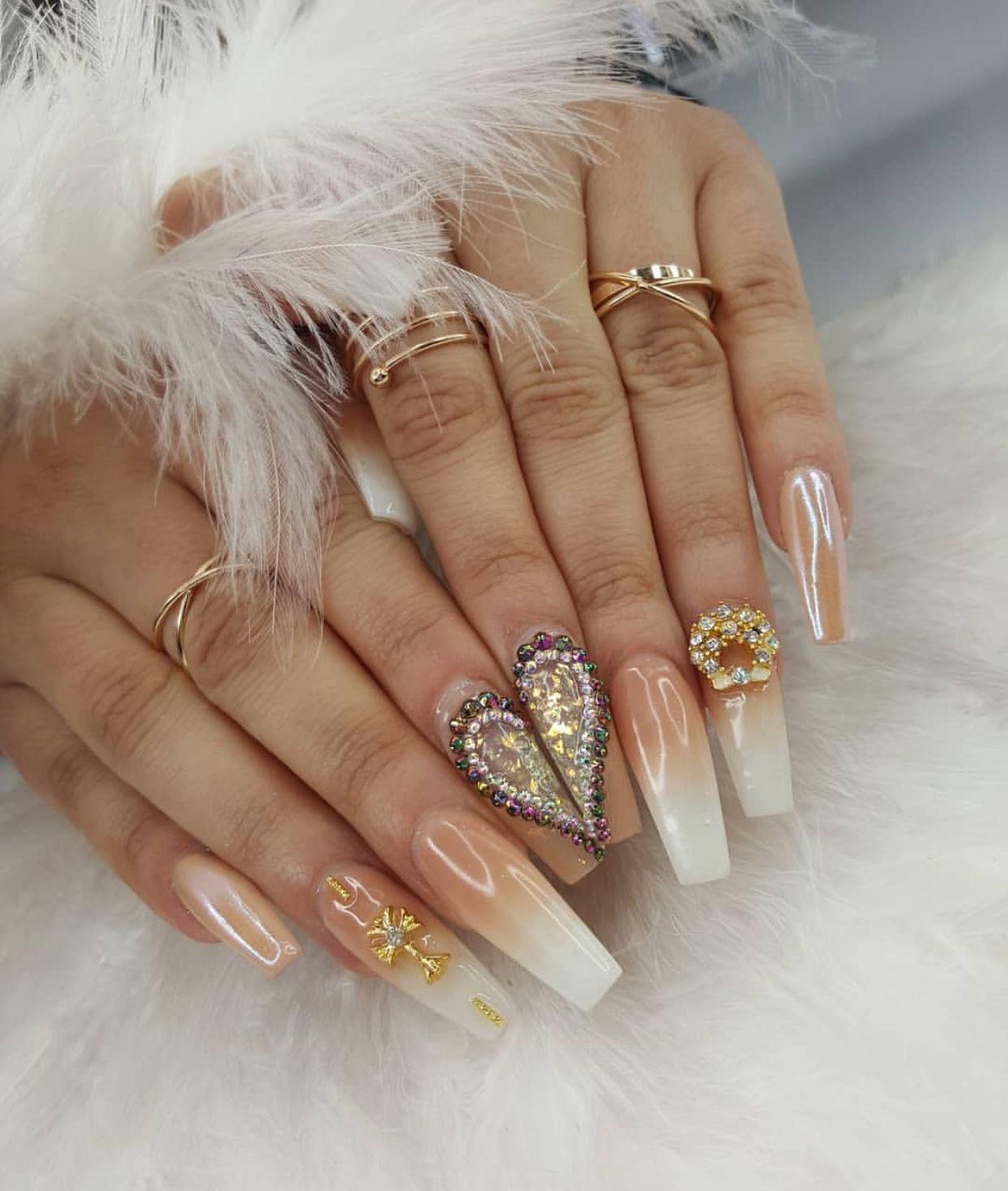 Pin By Annie K On Nails Blogger Nails Long Gel Nails Nails