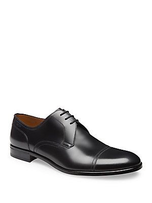 Bally Brustel Calf Leather Derby Shoes