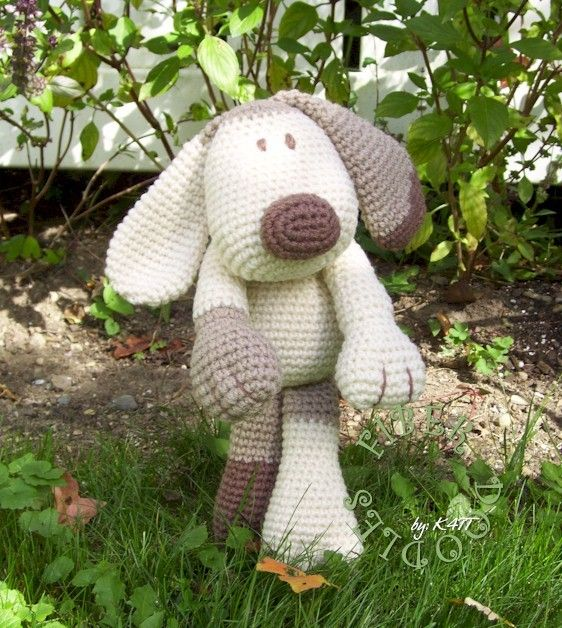 Crochet Pattern Kiss Series Puppy By Fiberdoodlesbyk4tt On Etsy