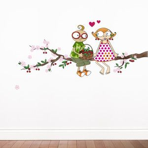 Enchanting Wall Decals By The French Artist Sego For Adzif Time