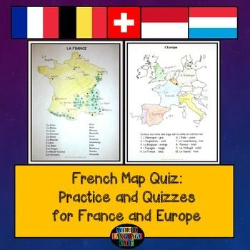 French Map Quiz Map Practice and Quizzes for France and Europe