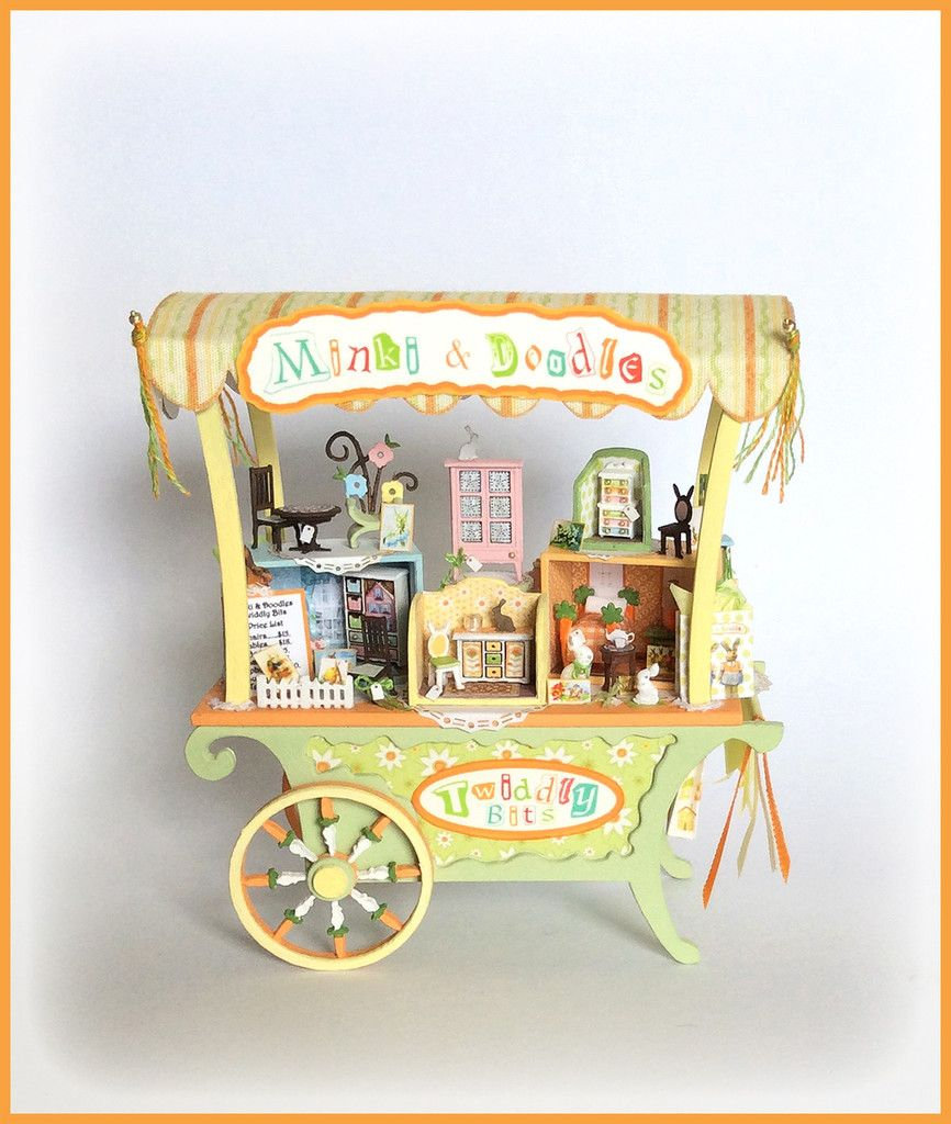 Minki & Doodles-Twiddly Bits an adorable Robin Betterley kit.