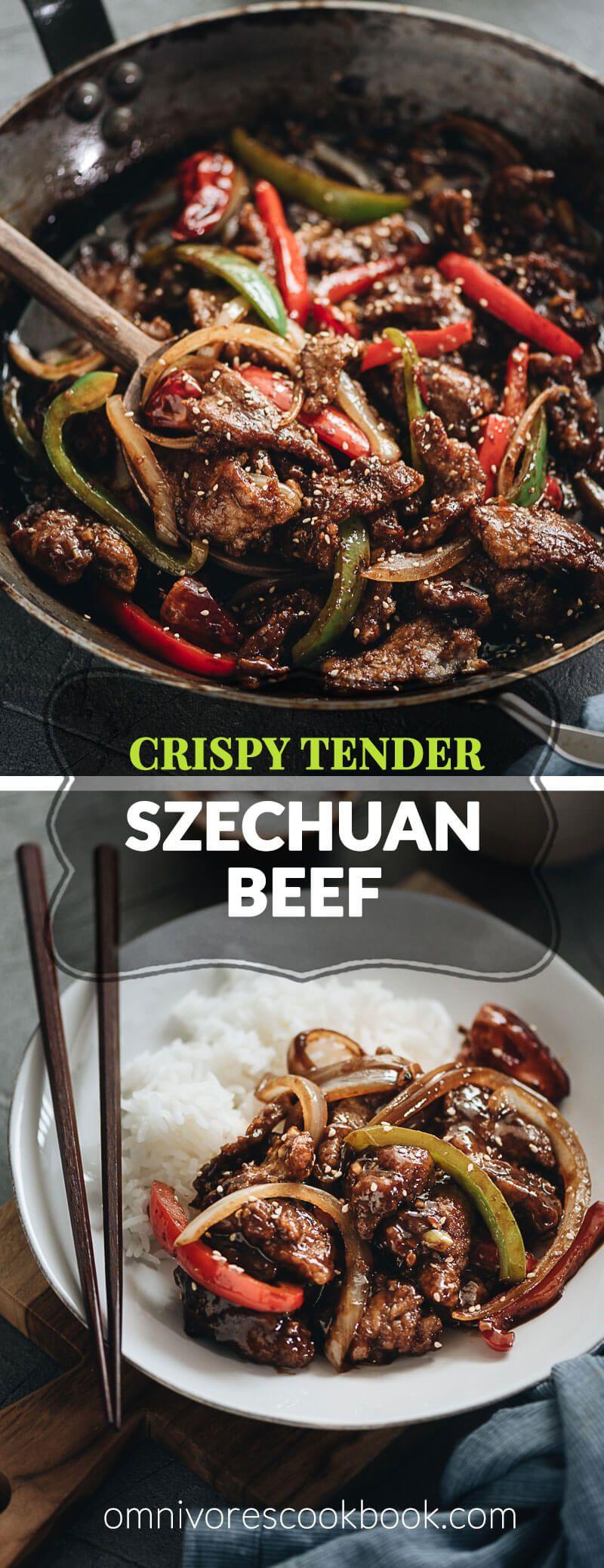 Real-Deal Szechuan Beef Stir Fry