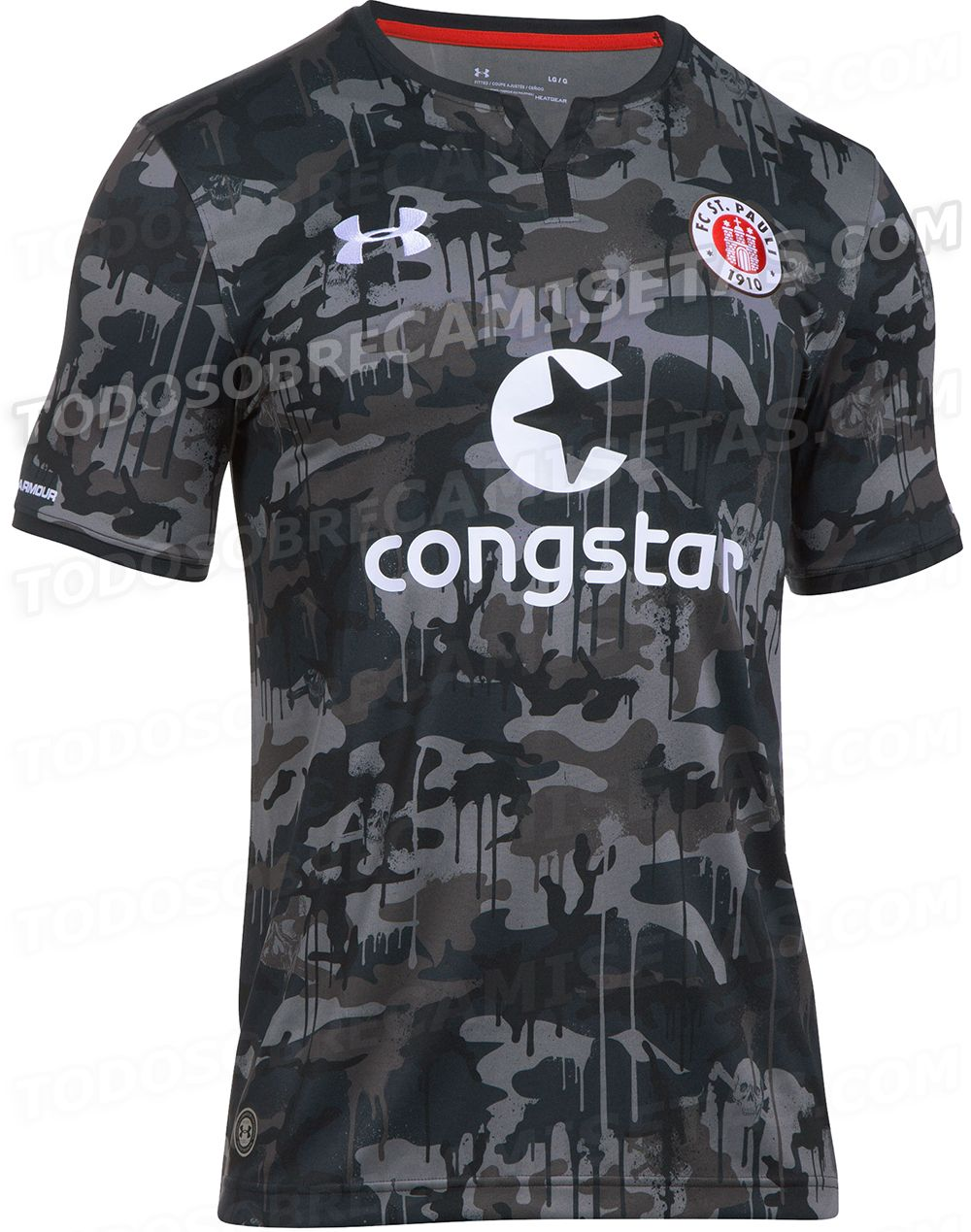 eb13b3f0d St. Pauli 3rd kit 2017/18 | Kit Wish List | Under armour camo ...