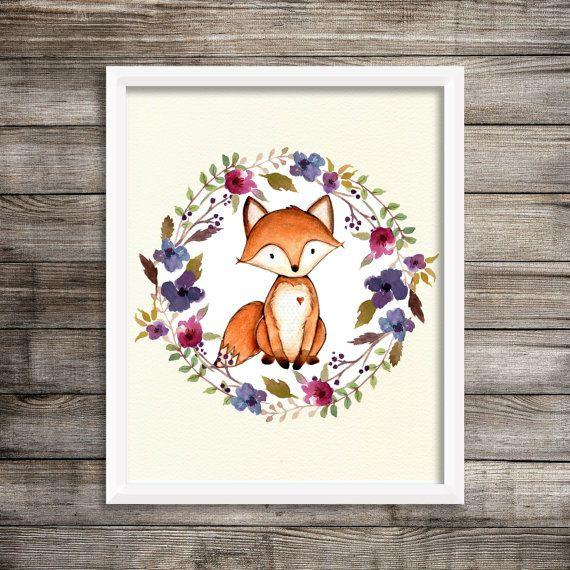https://www.etsy.com/au/listing/478215556/fox-in-floral-wreath-print-white-instant