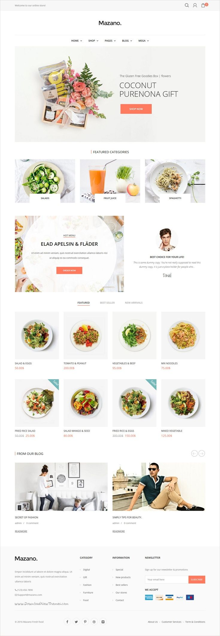 Mazano is a modern clean and professional onlineshop wordpress mazano is a modern clean and professional onlineshop wordpress woocommerce theme for forumfinder Gallery