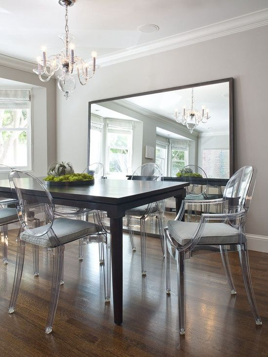 Philippe Starck Ghost Chair And Ghost Chairs With Cushions  Id Endearing Custom Dining Room Chair Cushions Design Ideas