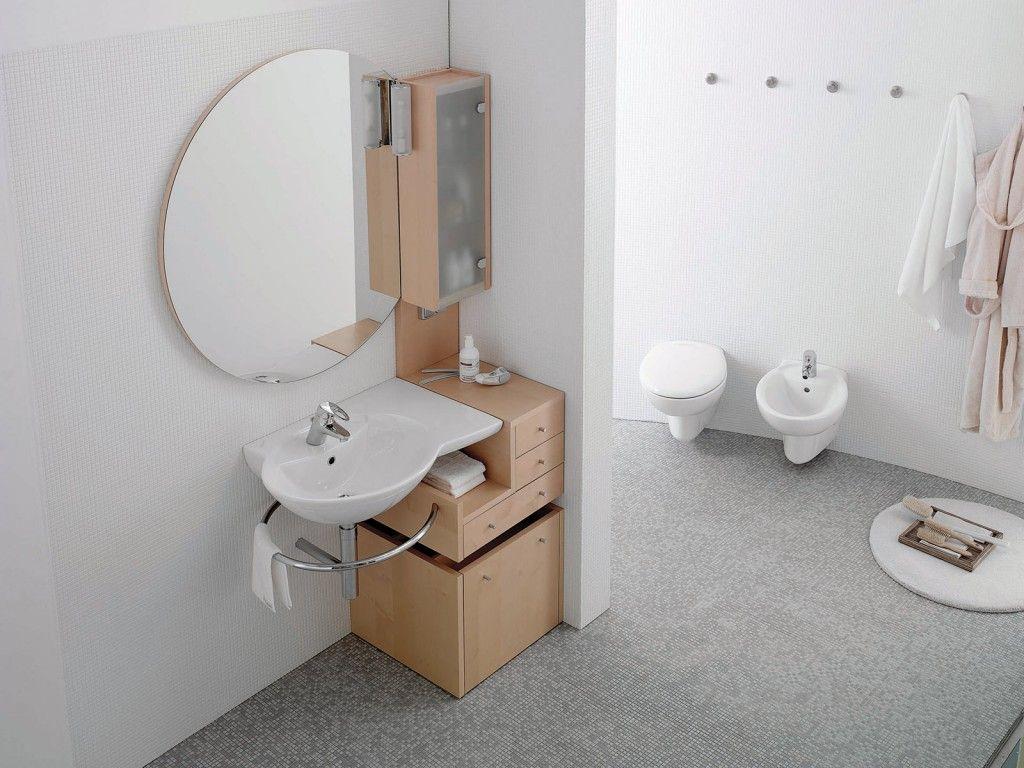 Specchi per bagno self : Collezione novella di ceramica dolomite #ceramichedolomite