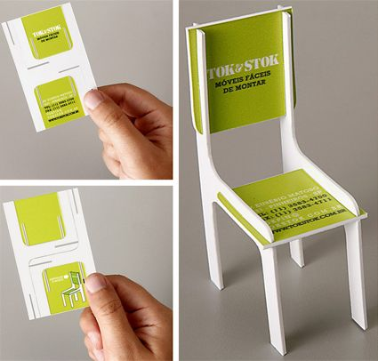 Business Card For Easy To Emble Furniture Vendor How Clever