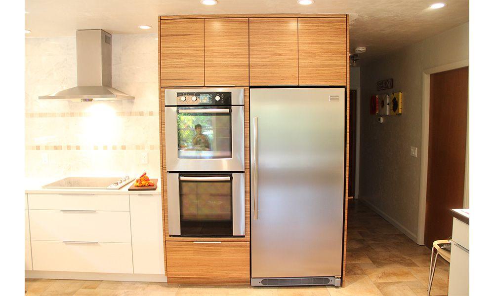 Zebra Wood Kitchen | Jason Straw Woodworker | Kitchen ...