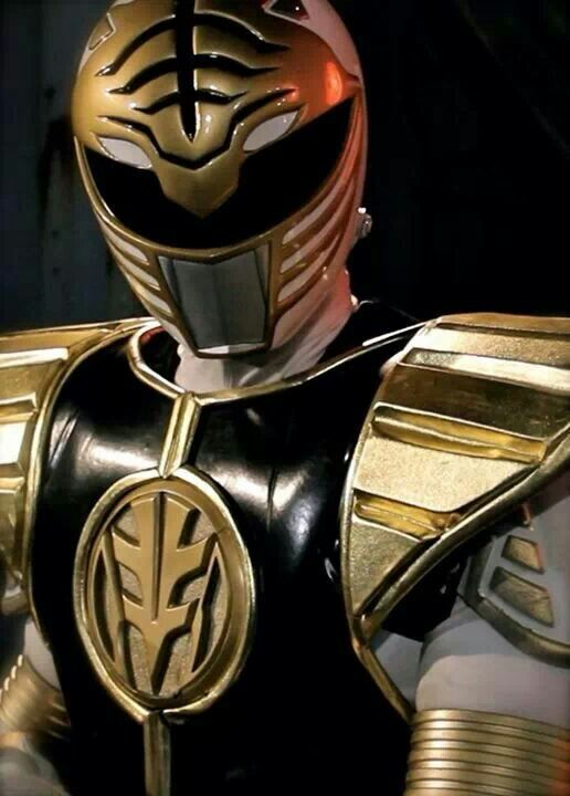 "White Power Ranger from the Bat in the Sun's web series ""Super Power Beat Down"". #SonGokuKakarot"