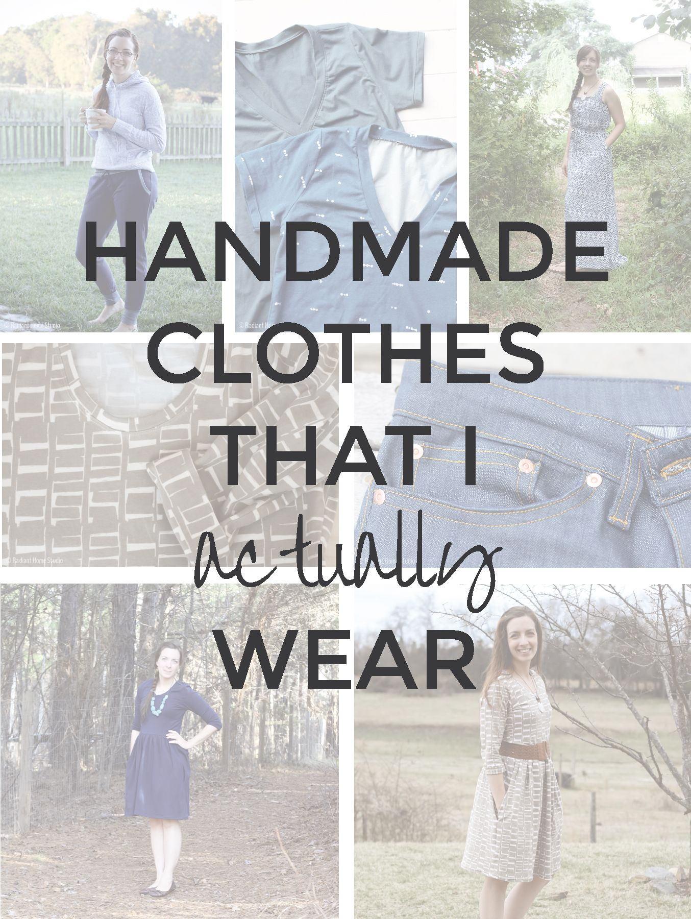 Handmade Clothes That I Actually Wear | Handmade clothes, Sewing ...