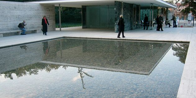 Image result for barcelona pavilion materials used ...