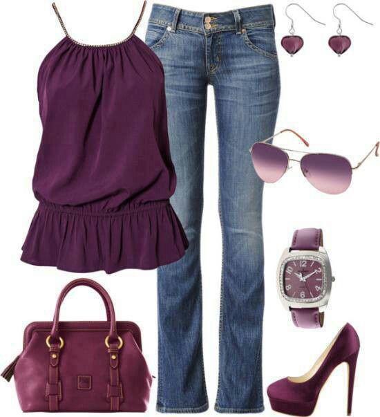 Purple girls