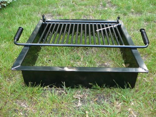 Square Fire Pit Insert - Square Fire Pit Insert DIY - Outdoor/Backyard Projects Pinterest