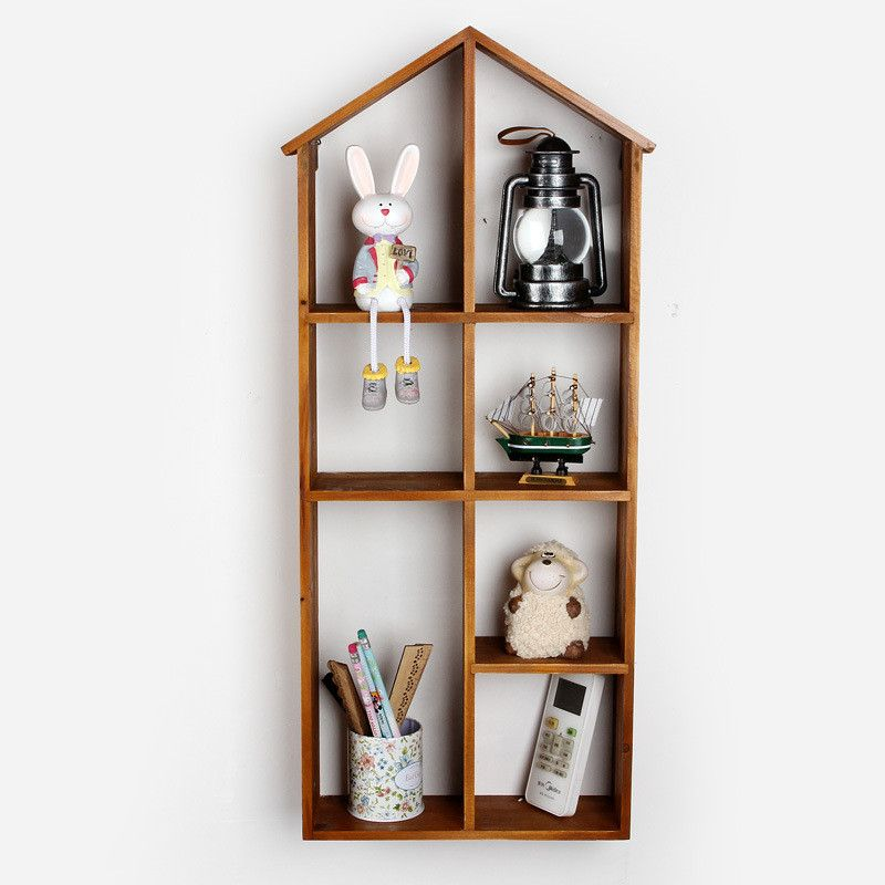 Wall Decor Boxes Click To Buy  Hot Home Decor Vintage Wall Shelf Bookcasehanger