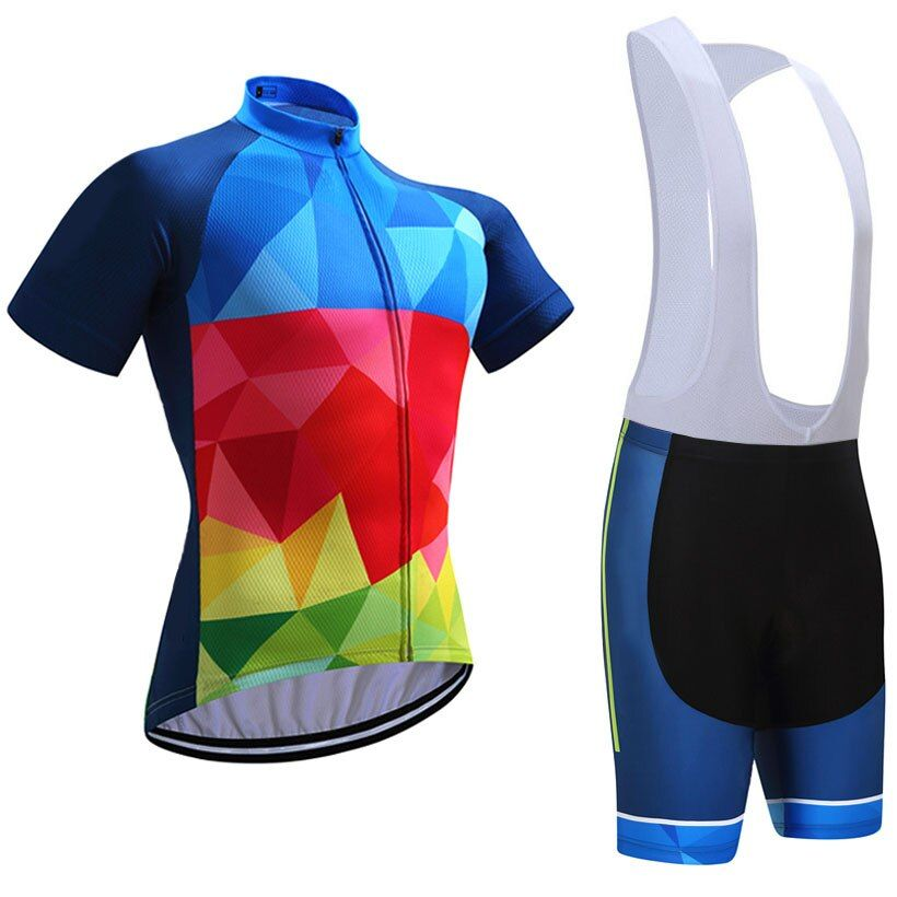 Reviews Sobycle Colorful Pro Cycling Jersey 9d Gel Pad Bike Shorts