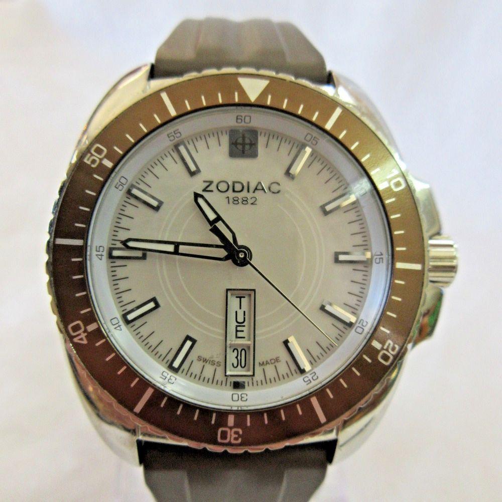 SOLD. Men's ZODIAC Wristwatch ZO5531 Speed Dragon 10543