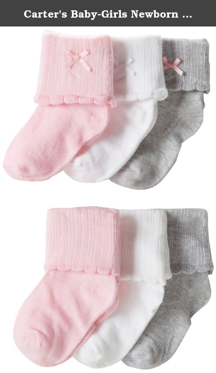 Flowers Pack of 6 3-12 Months Carters Baby-Girls Socks