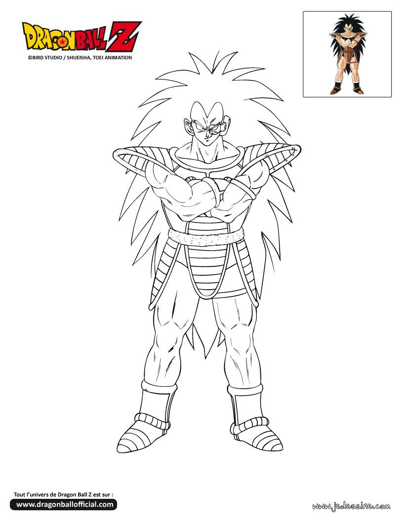 Coloriage dragon ball z dragon ball z pinterest - Dessin de dragon ball za imprimer ...