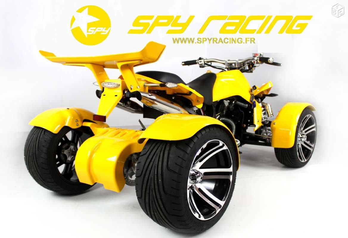 quad spy racing 350 f1 homologue route neuf motos lot quads pinterest. Black Bedroom Furniture Sets. Home Design Ideas