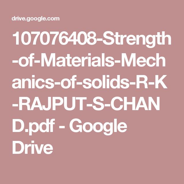 107076408-Strength-of-Materials-Mechanics-of-solids-R-K