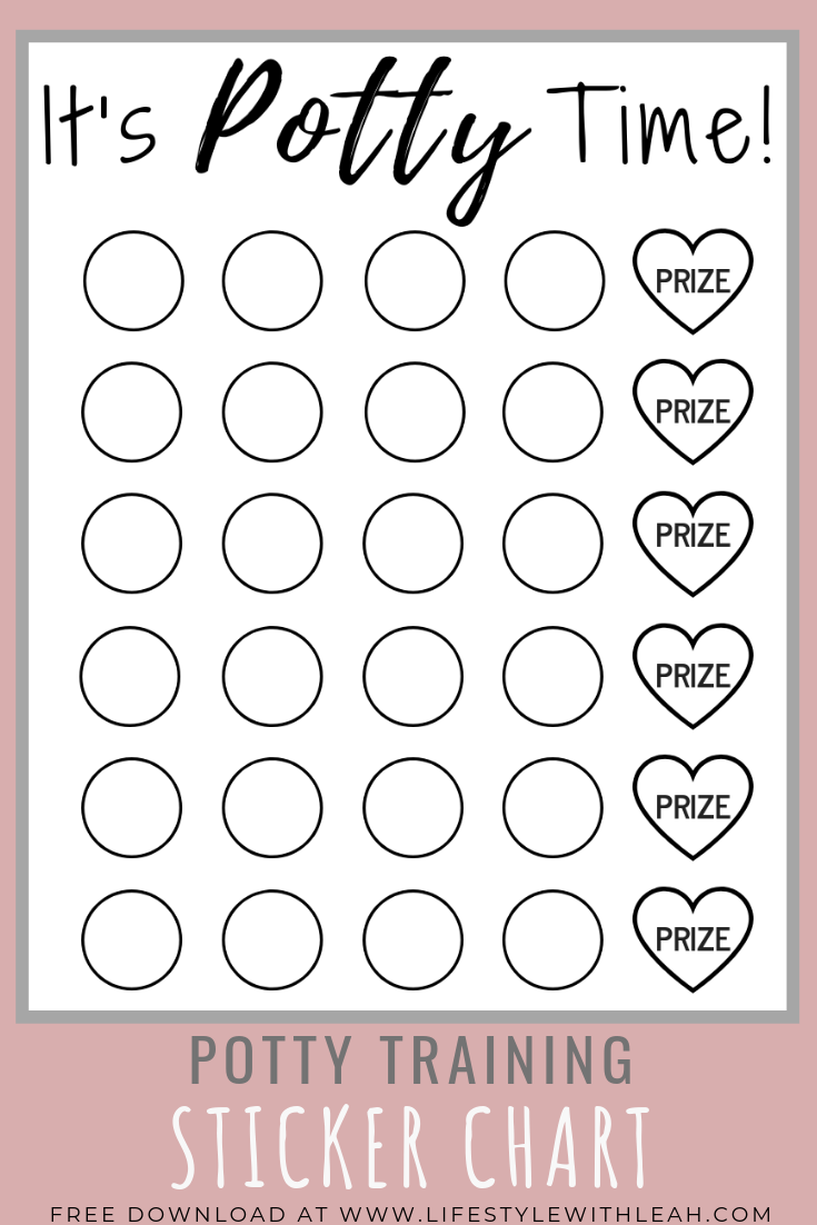 Download Your Free Potty Training Sticker Chart Today Your Kids Will Love Keeping Tra Potty Training Stickers Potty Training Sticker Chart Potty Sticker Chart