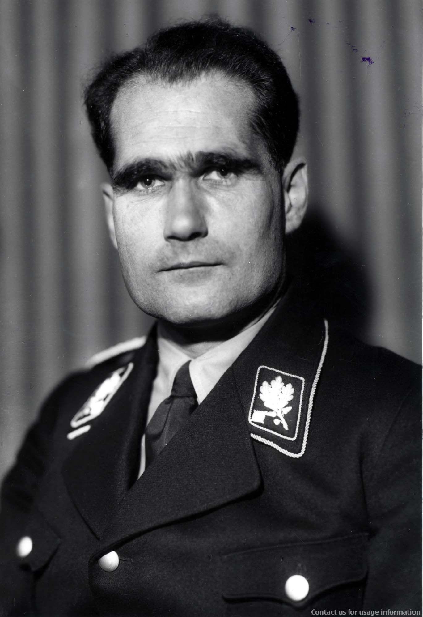 rudolf hess appointed deputy f252hrer to adolf hitler in