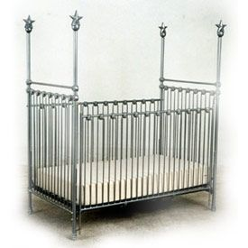 High Post Iron Dream Baby Crib