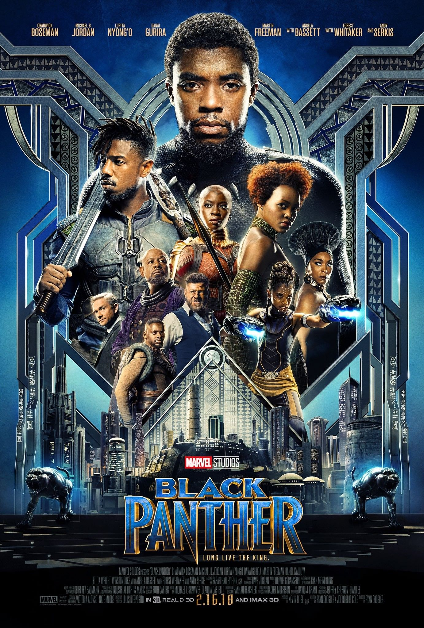 La Panthere Noire Filme Pantera Negra Black Panther Marvel Pantera Negra