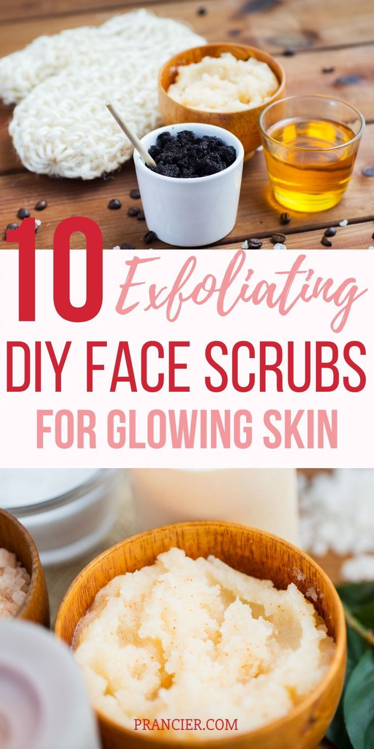 One of the most effectives DIY Face Scrub Recipes that naturally exfoliates and that works wonderfully for all types of skin is the Brown Sugar Face Scrub Recipe!