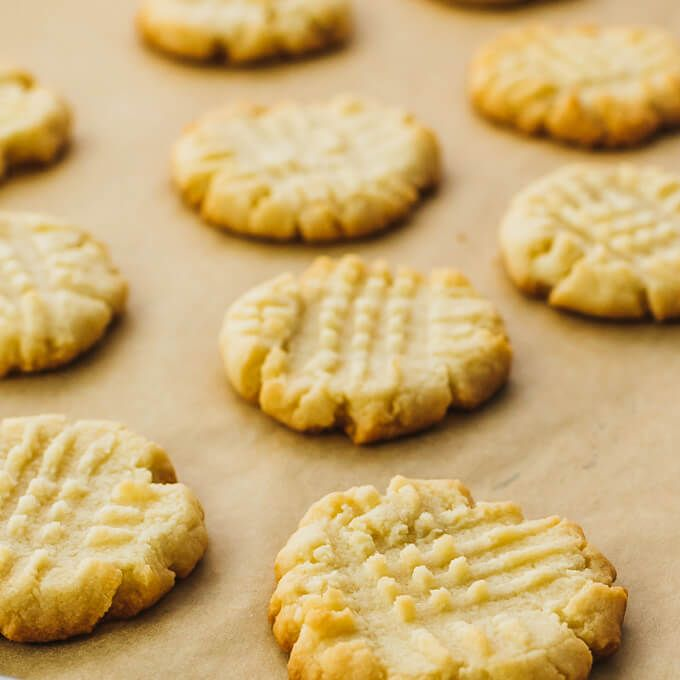 Low Carb Butter Cookies With Almond Flour. #keto #cookies