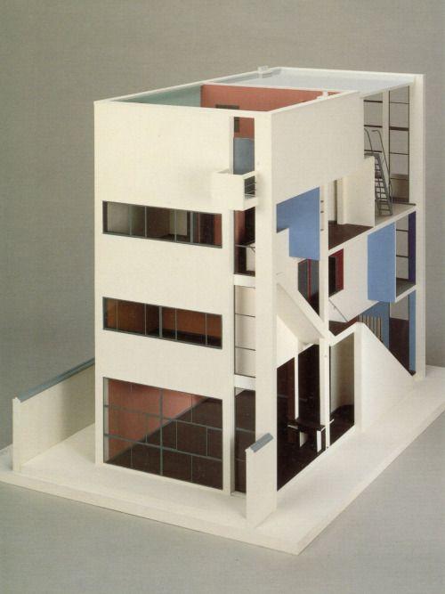 Model : Maison Guiette, Anvers Belgium | Le Corbusier | archi :: Le ...