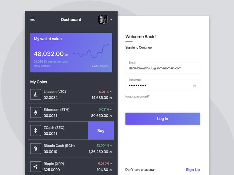 cryptocurrency wallet app iphone