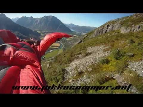 """Maybe it is just me, but this seems a little bit bat shit crazy to me... """"Dream Lines - Part I"""" Wingsuit Proximity Flying by Jokke Sommer"""