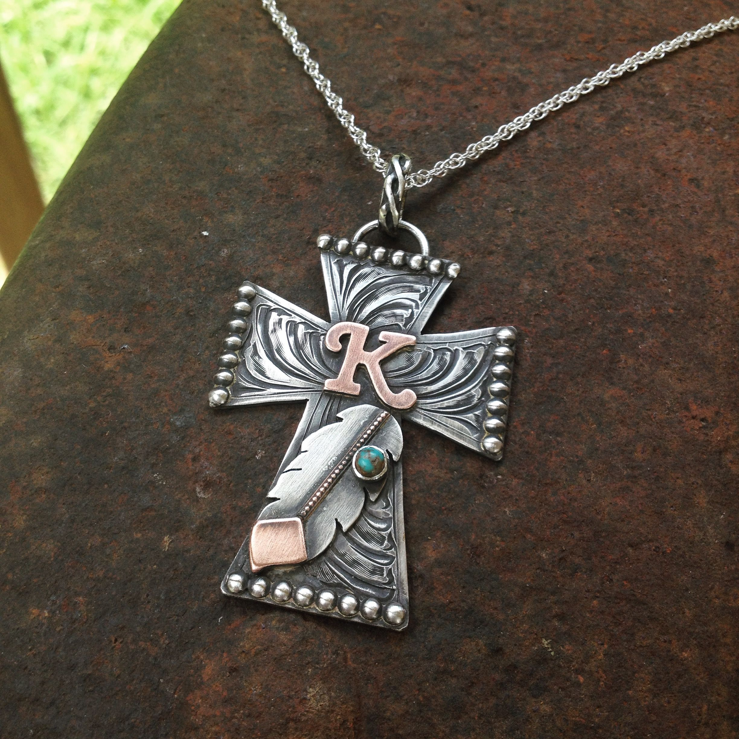 Bling Bling Cross Necklace