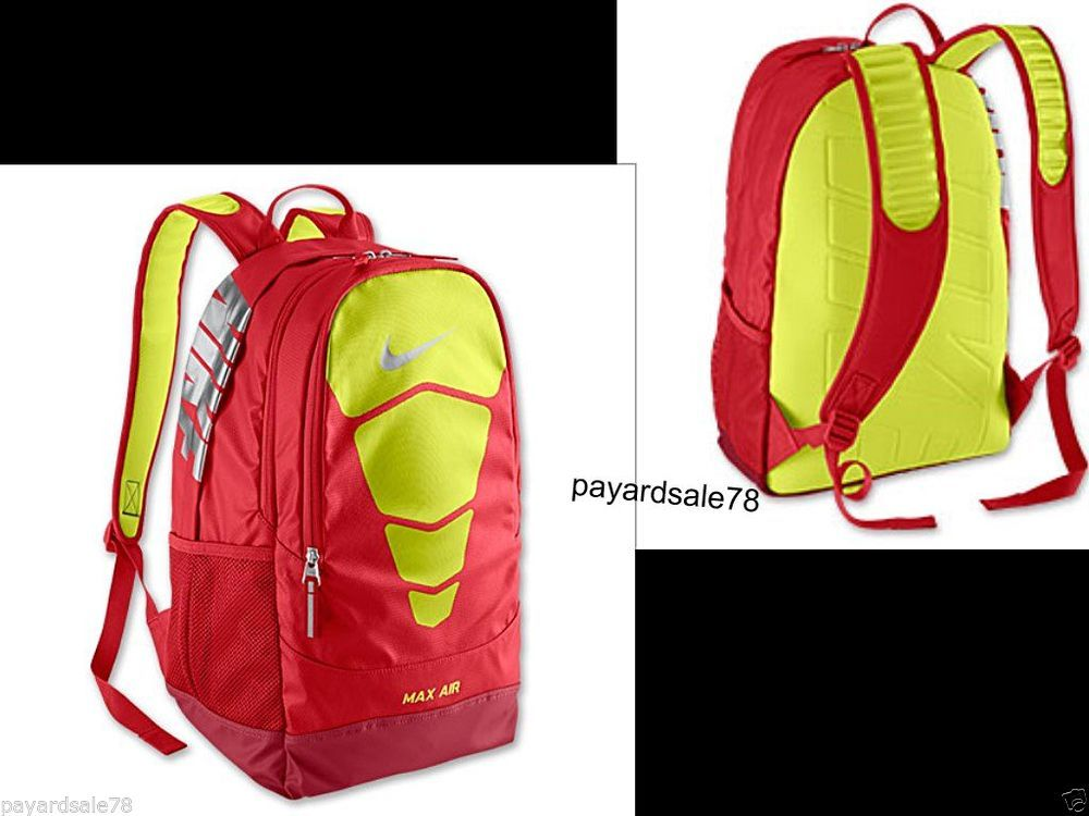 nike air backpack red